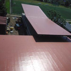 Plochá střecha, sportovní centrum Jičín